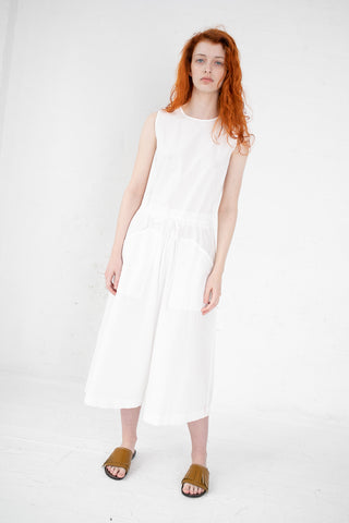 AVN Jumpsuit in 01 White | Oroboro Store | New York, NY