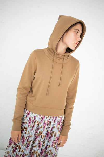 A Detacher Iris Hoodie in Khaki | Oroboro Store | New York, NY