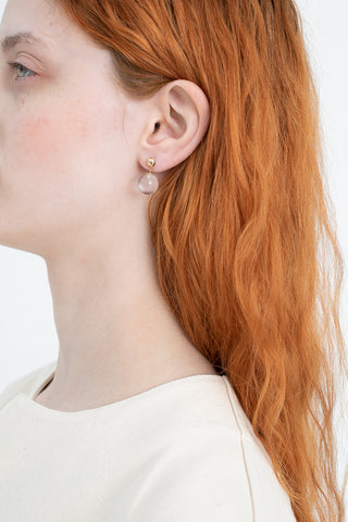 J Hannah Glace Drop Earrings in Gold | Oroboro Store | New York, NY