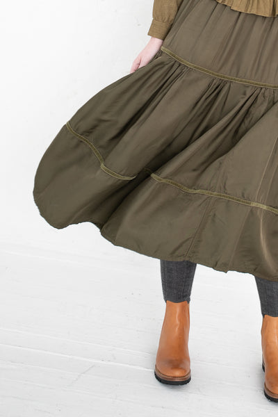 Elevation Skirt in Olive