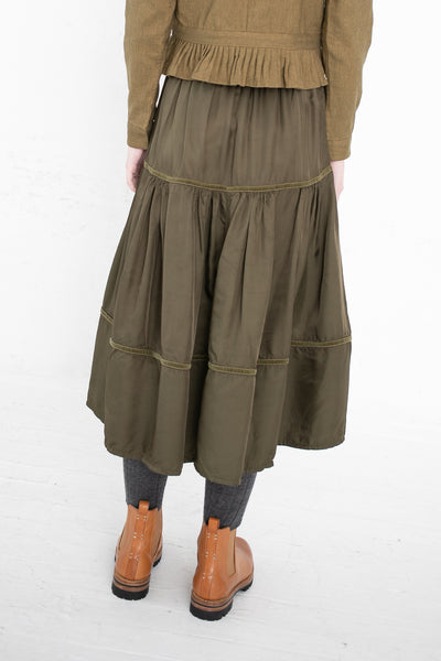 Visvim Elevation Skirt in Olive | Oroboro Store | New York, NY