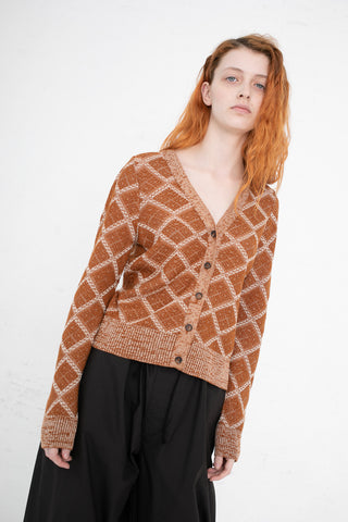 A Detacher Caludeta Cardigan in Camel | Oroboro Store | New York, NY