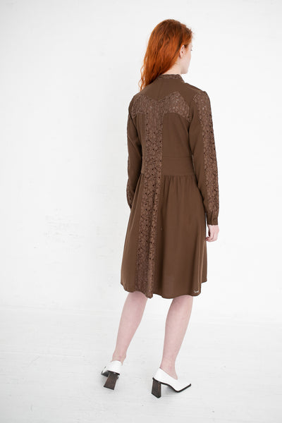 Visvim Lace Dress in Brown | Oroboro Store | New York, NY