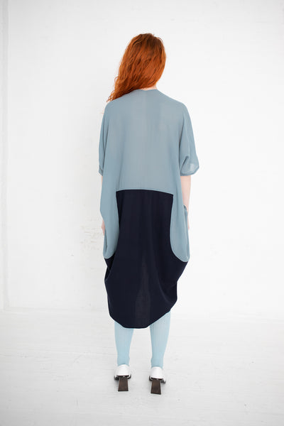 Visvim Ruana Dress in Blue | Oroboro Store | New York, NY