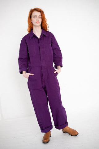 As Ever Zip Jumpsuit in Ultra Violet | Oroboro Store | New York, NY