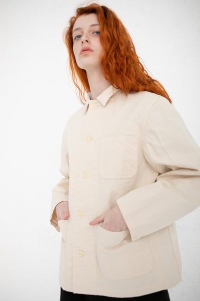 As Ever Louise Bourgeois Jacket in Natural | Oroboro Store | New York, NY