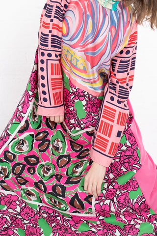 Bettina Bakdal Vintage Scarves Dress The Happy Spring Dress | Oroboro Store | New York, NY
