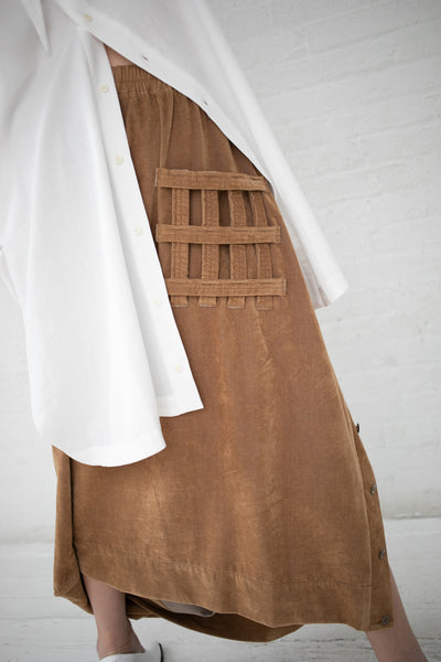 Bernhard Willhelm Skirt in Brown | Oroboro Store | New York, NY