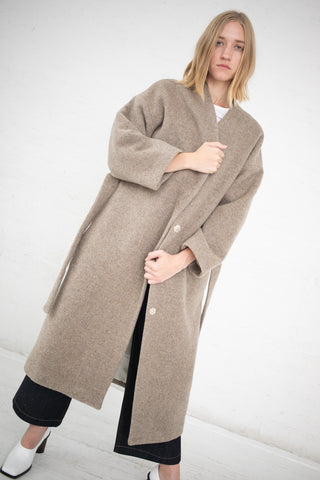 Samuji Callen Coat in Light Grey | Oroboro Store | New York, NY