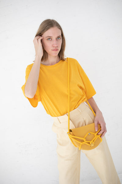 Monkey Bebe Bag in Yellow with Yellow Rope