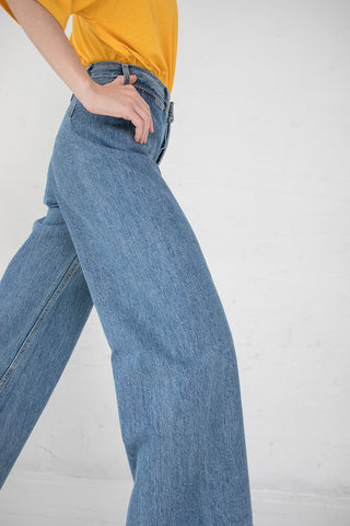 Jesse Kamm Sailor Pant in Cowboy Blue | Oroboro Store | New York, NY