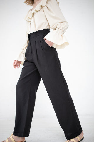 Baserange Como Pants in Black | Oroboro Store | New York, NY
