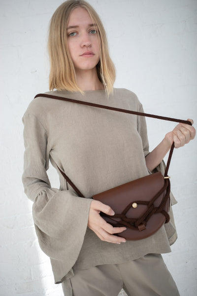 Eatable of Many Orders Monkey Bebe Bag in Brown | Oroboro Store | New York, NY