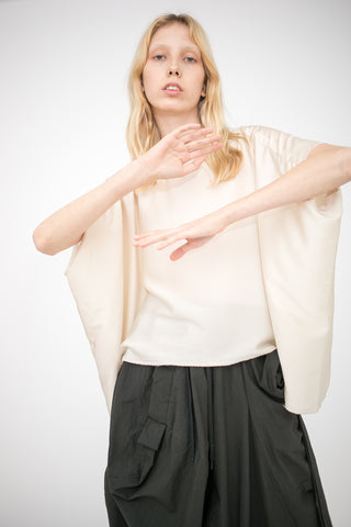 Bernhard Willhelm Blouse in Ecru | Oroboro Store | New York, NY