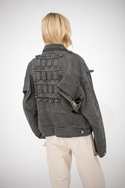 Bernhard Willhelm Jacket in Black | Oroboro Store | New York, NY