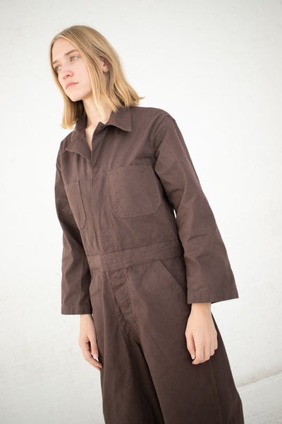 As Ever Zip Jumpsuit in Walnut | Oroboro Store | New York, NY