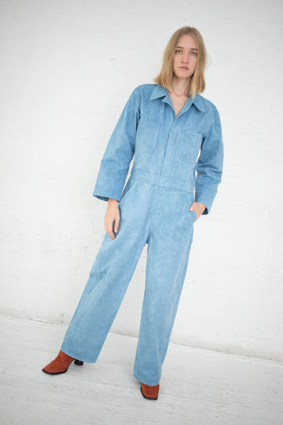 As Ever Zip Jumpsuit in Indigo Sky | Oroboro Store | New York, NY