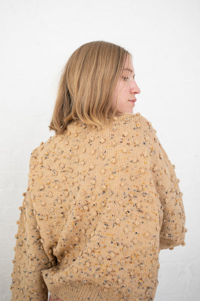 Misha and Puff Popcorn Sweater in Camel Confetti | Oroboro Store | New York, NY