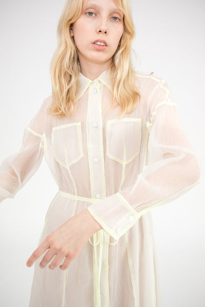 Dress Sheer in Off White