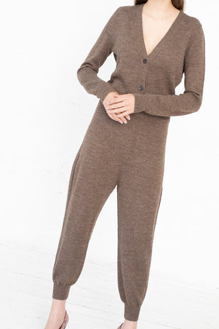 A Detacher Canyon Jumpsuit in Taupe | Oroboro Store | New York, NY