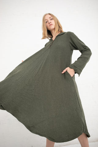 Robe de Femme de Chambre in Forest Green | Oroboro Store | New York, NY