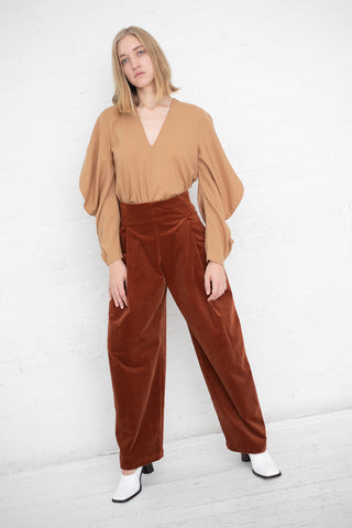 Simone Trouser in Adobe