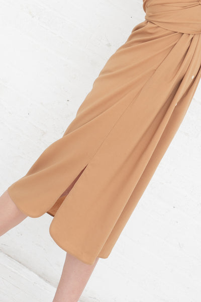 Shaina Mote Georgia Dress in Camel | Oroboro Store | New York, NY