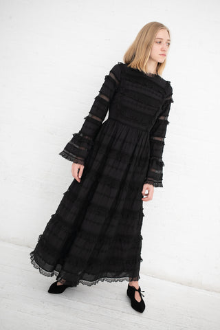 Ulla Johnson Cerise Dress in Noir | Oroboro Store | New York, NY