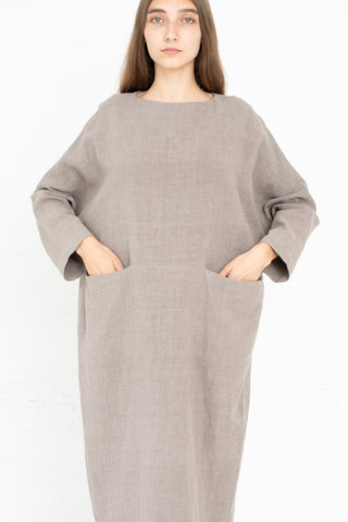 Pocket Dress in Taupe