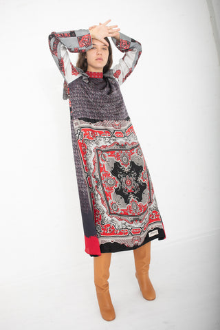 Bettina Bakdal Vintage Scarves Dress The Antoine Dress | Oroboro Store | New York, NY