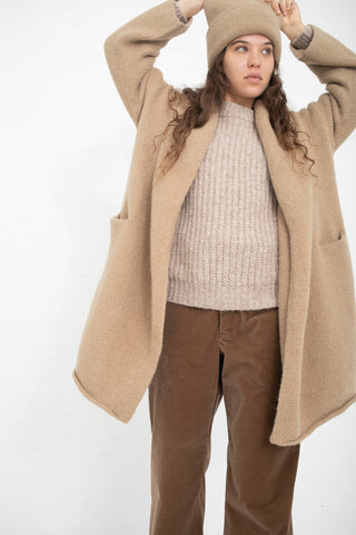 Lauren Manoogian Capote Coat in Sand | Oroboro Store | New York, NY