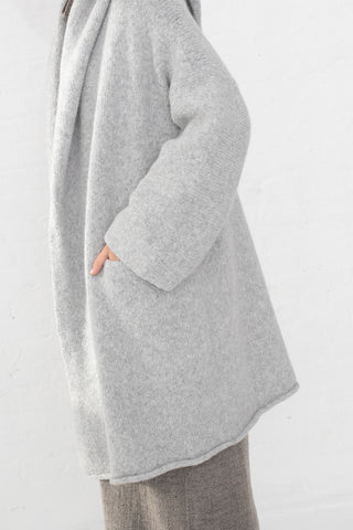 Lauren Manoogian Capote Coat in Blue Grey | Oroboro Store | New York, NY