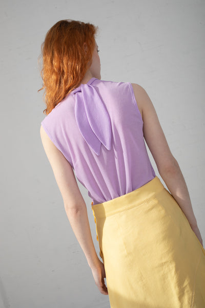 Rejina Pyo Rebecca Top in Lavender | Oroboro Store | New York, NY