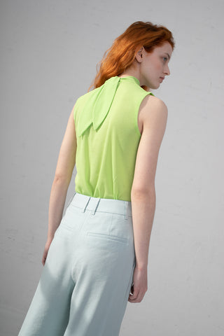 Rejina Pyo Rebecca Top in Green | Oroboro Store | New York, NY