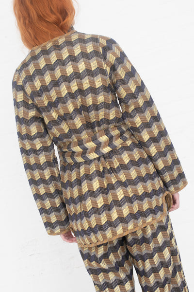 Ace & Jig Quilted Coat in Casino/Topanga | Oroboro Store | New York, NY