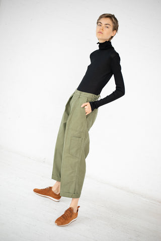 Chimala US Air Force Cargo Pant in Khaki Green | Oroboro Store | New York, NY