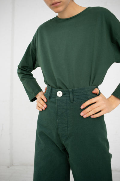 Jesse Kamm Camper Top in Forest Service Green | Oroboro Store | New York, NY