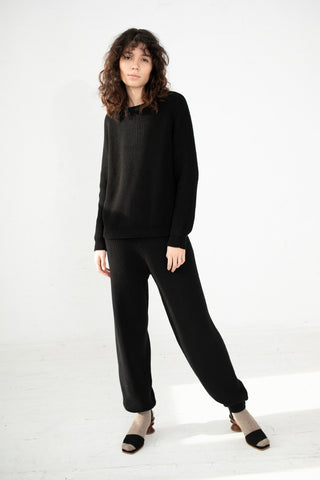 Baserange Gerda Pants in Black | Oroboro Store | New York, NY