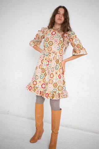 Batsheva Spring Prairie Dress in Patchwork | Oroboro Store | New York, NY