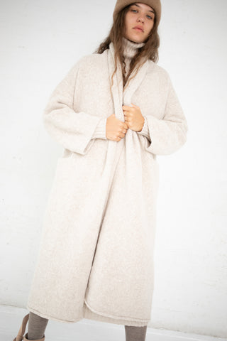 Lauren Manoogian Long Shawl Cardigan in Hessian | Oroboro Store | New York, NY