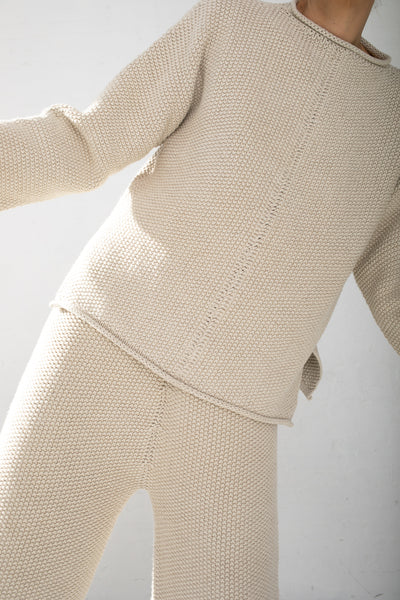 Lauren Manoogian Seed Pullover in Natural | Oroboro Store | New York, NY