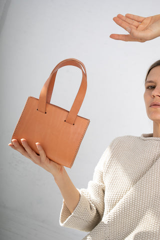 Lauren Manoogian Small Sling Bag in Natural | Oroboro Store | New York, NY