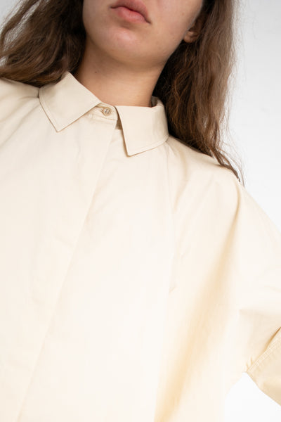 Nehera Brehy Top in Light Beige  | Oroboro Store | New York, NY