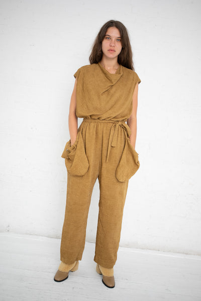 Nehera Okol Jumpsuit in Walnut  | Oroboro Store | New York, NY