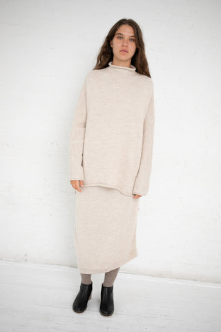 Lauren Manoogian Bend Skirt in Hessian | Oroboro Store | New York, NY