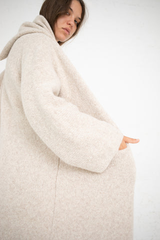 Lauren Manoogian Capote Coat in Hessian | Oroboro Store | New York, NY