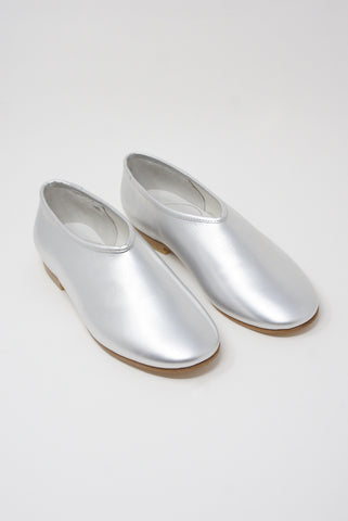 Cosmic Wonder Folk Shoes in Silver front