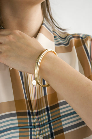 Ursa Major Edie Bangle in Brass