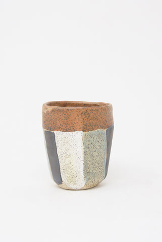 Shino Takeda Cup in Pastel Stripe III