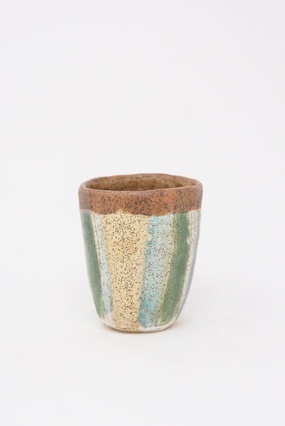 Shino Takeda Cup in Pastel Stripes V